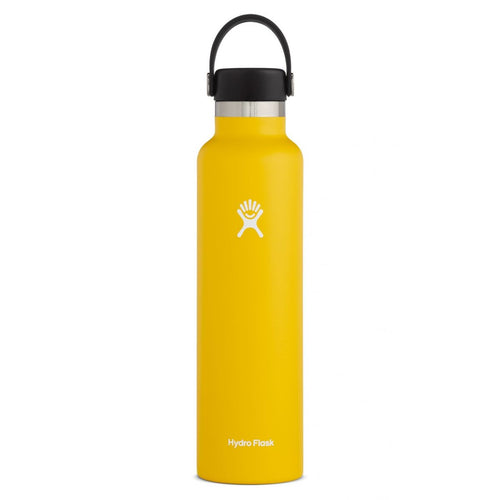 Hydro Flask Standard-Mouth Water Bottle with Flex Cap, Sunflower - 24 fl. oz.