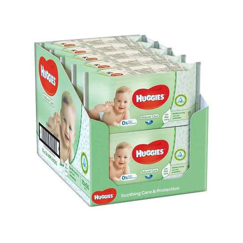Huggies Baby 56 Wipes (Box of 10 packs)