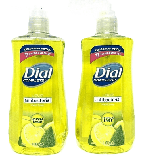 "Dial Complete Liquid Hand Soap 11 oz Lemon and Sage ""2- PACK"""