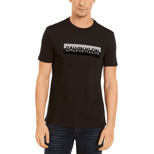 Calvin Klein Jeans Men's Split Logo T-Shirt Black (41VM800010)