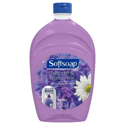 Softsoap Lavender and Chamomile Liquid Hand Soap, 50 Oz - 1.47 L