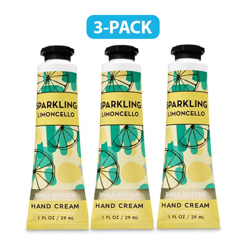 "Bath Body Works Sparkling Limoncello Hand Cream 1.0 oz ""3-PACK"""