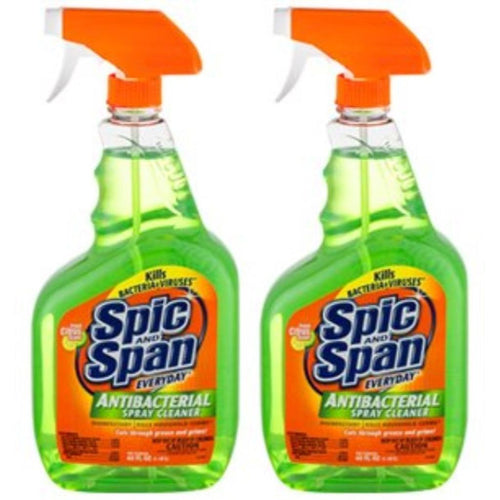 Spic And Span Antibacterial Spray Cleaner, 22 oz (2 Bottle Multipack)
