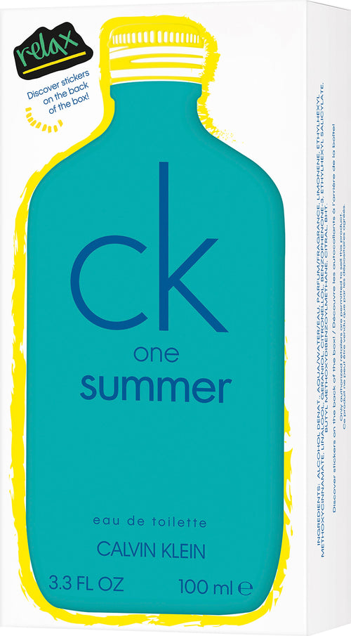 Calvin Klein One Summer Edt 3.3 oz 100ml (2020 Edition)