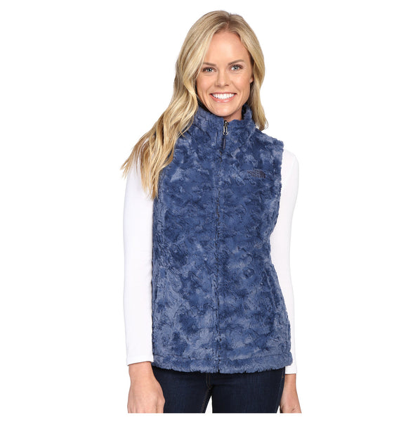The North Face Women's Mossbud Swirl Reversible Vest Cosmic Blue XLARGE