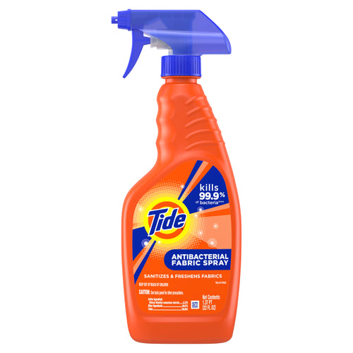 Tide Antibacterial Fabric Spray, Original Scent, 22 fl oz