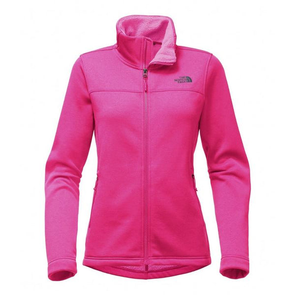 The North Face Women's Timber Full Zip Jacket - Petticoat Pink Heather