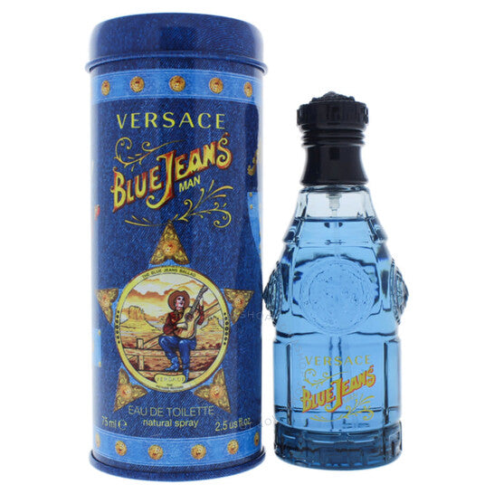 Versace Blue Jeans EDT 2.5 oz 75 ml Men