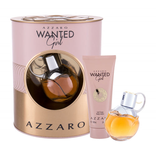 Azzaro Wanted Girl EDP Spray 50 ml + Body Lotion 100 ml Gift Set