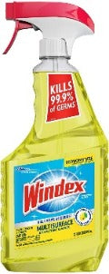 Windex Disinfectant Cleaner Multi-Surface Spray Citrus 32 oz