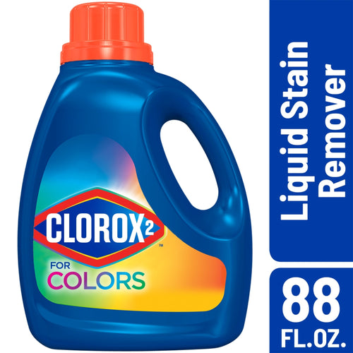Clorox 2 for Colors - Stain Remover and Color Brightener Clean Linen, 88 Ounces