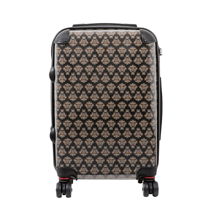 Small suitcase with Dardelica print design