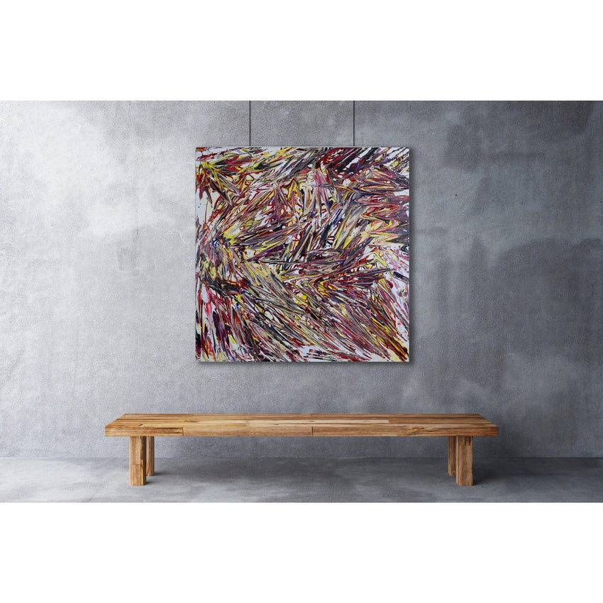 '41' (DEEP DOWN/ FAR BEYOND) - acrylic on canvas