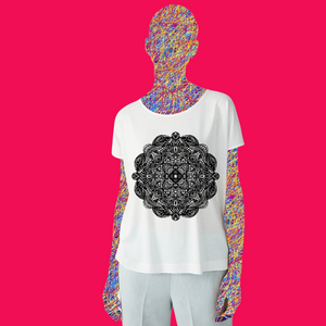 Women's Crew Neck T-Shirt | Super-T-Mandala|