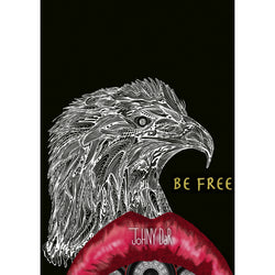 'BE FREE' - Poster
