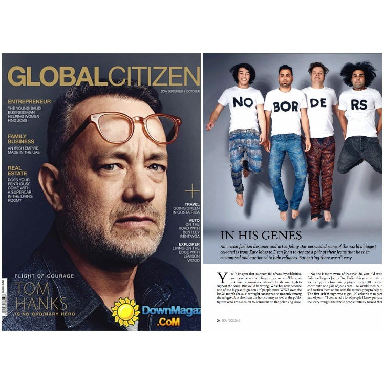 GLOBAL CITIZEN MAGAZINE