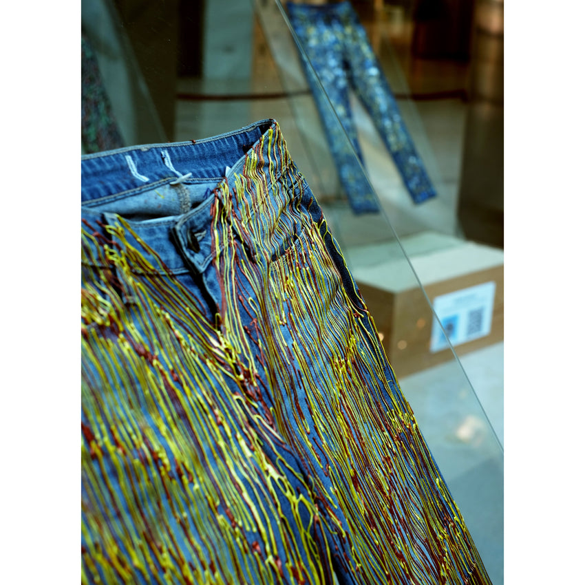 Exhibition: Jeans For Refugees Installation Moda Mall Bahrain