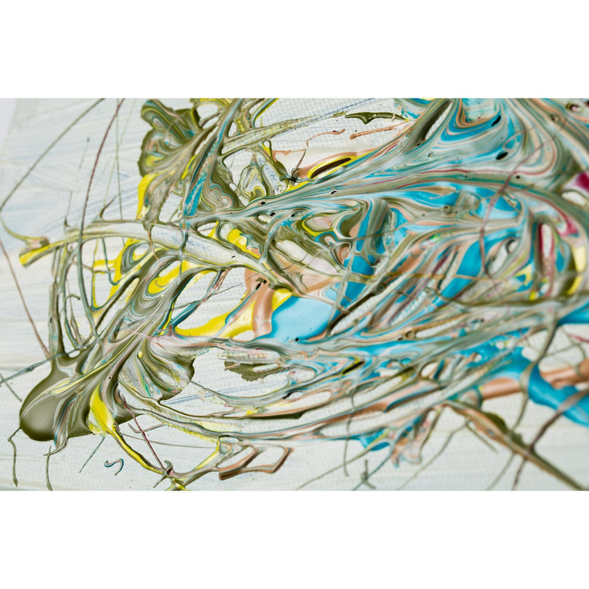 'PERFECT MOMENTS 30' - acrylic on canvas