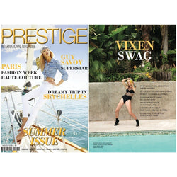 PRESTIGE INTERNATIONAL MAGAZINE  - FRANCE