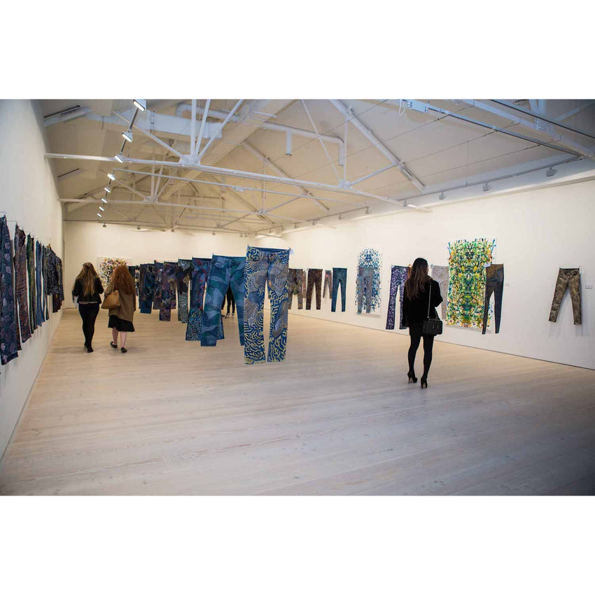 Exhibition: Jeans For Refugees Saatchi Gallery London