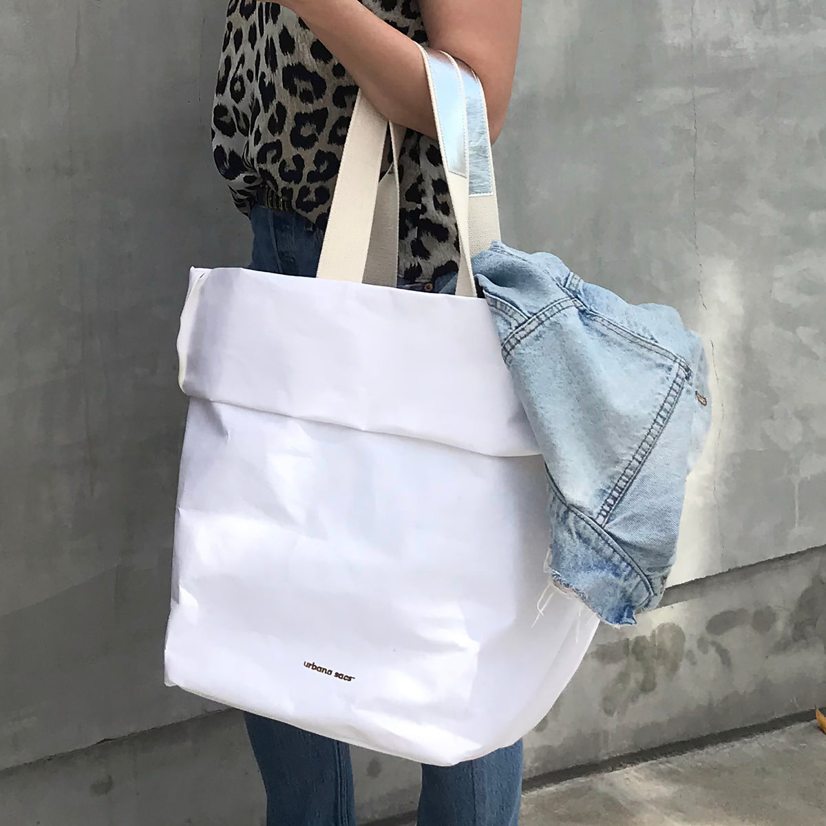 Carry-all Sac with Two Cotton Straps