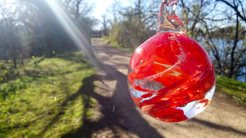 Meadow Memorial Keepsake Ornaments with Cremains - At Ladybird Lake Austin