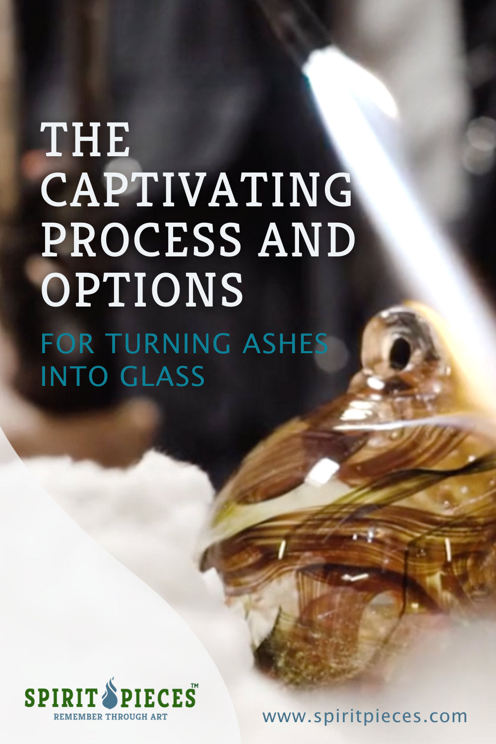 Pinterest pin the captivating process turning ashes into glass