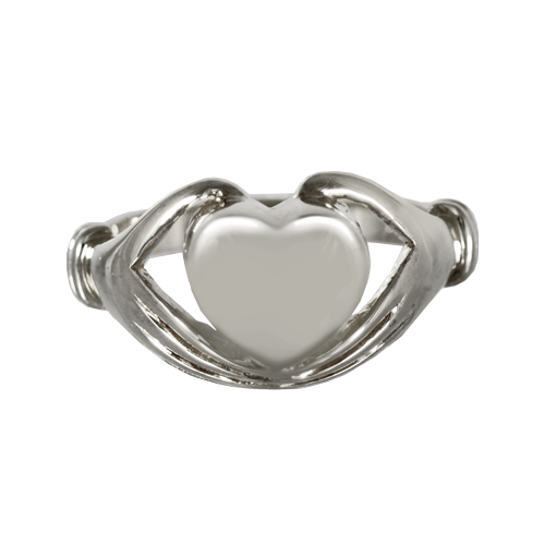 Silver Heart Ring for Cremains - Cremation Jewelry | $149.00