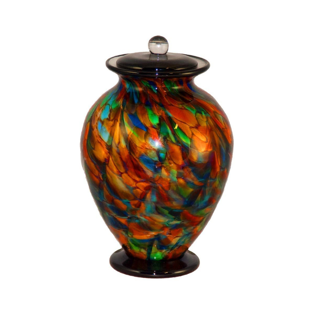 Autumn Amato Handblown Glass Urn - Cremation Jewelry | $479.00
