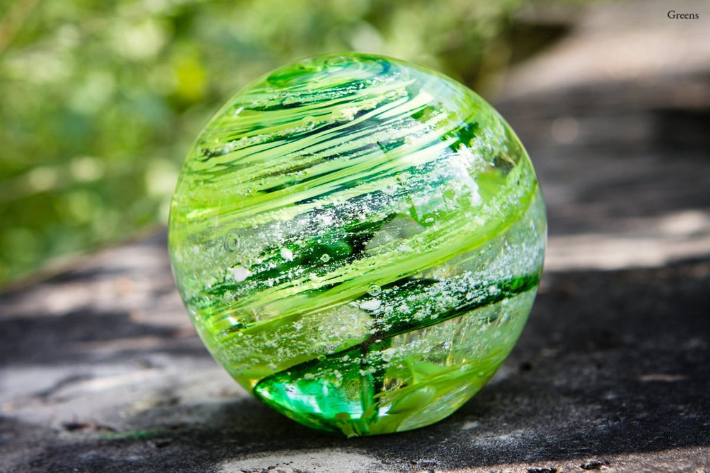 Tranquil Swirl Paperweight with Cremation Ash - FREE SHIPPING - PAPERWEIGHT | $169.00