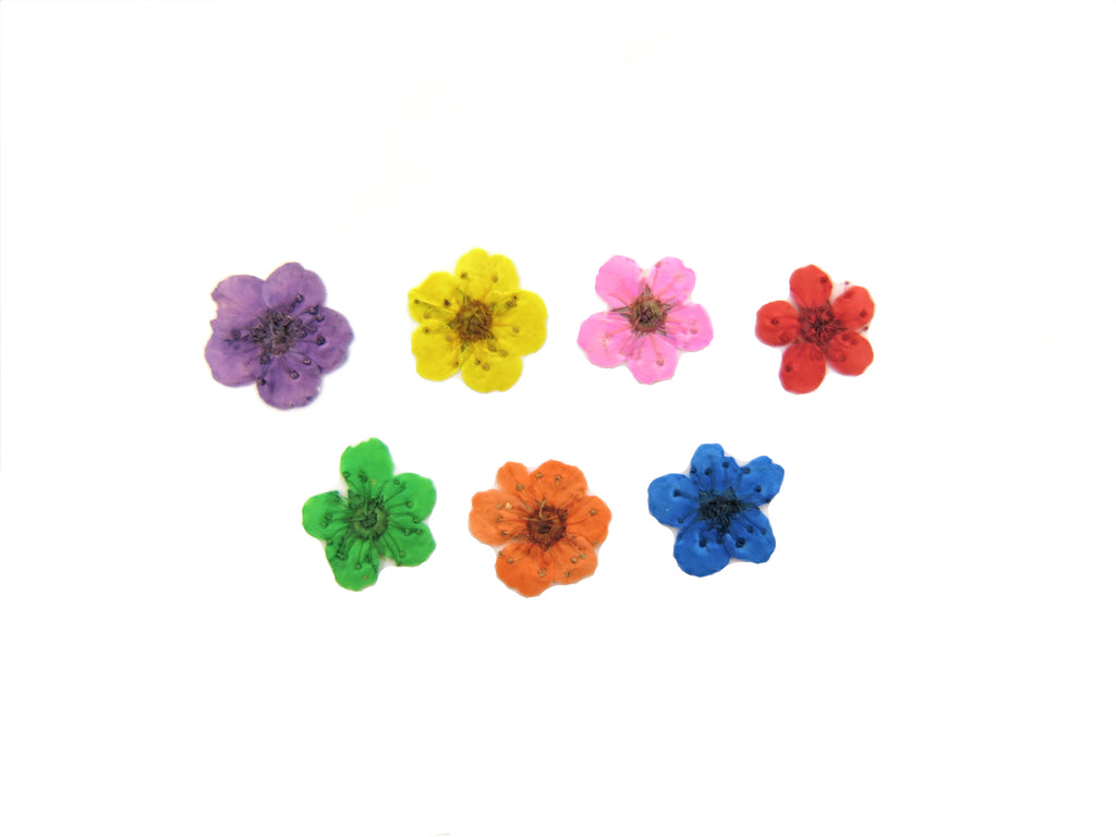 Flower Stud Earrings with Cremation Ash