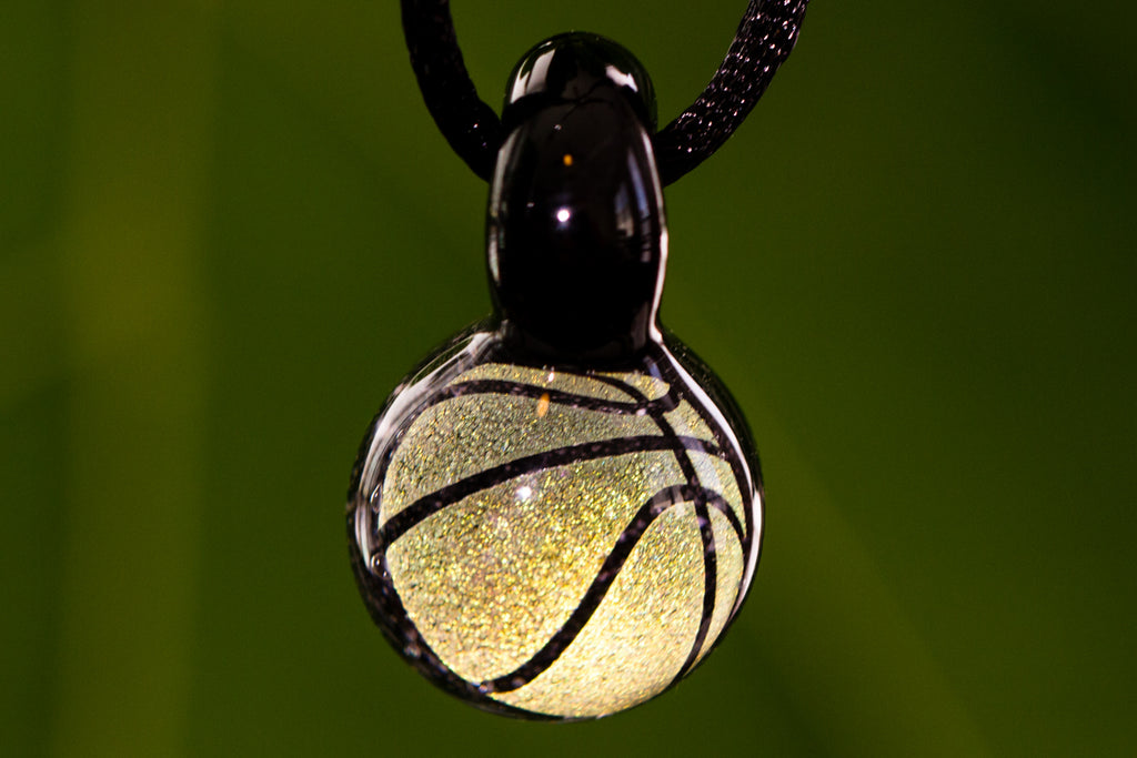 Holographic Basketball Cremation Jewelry