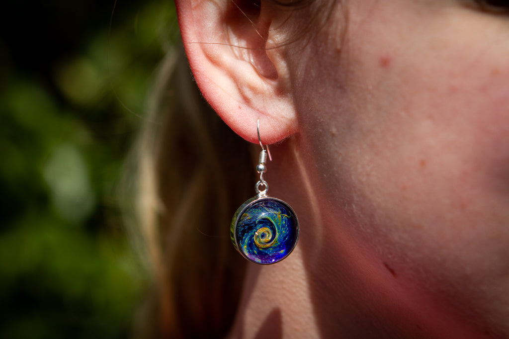 nightswirl earrings