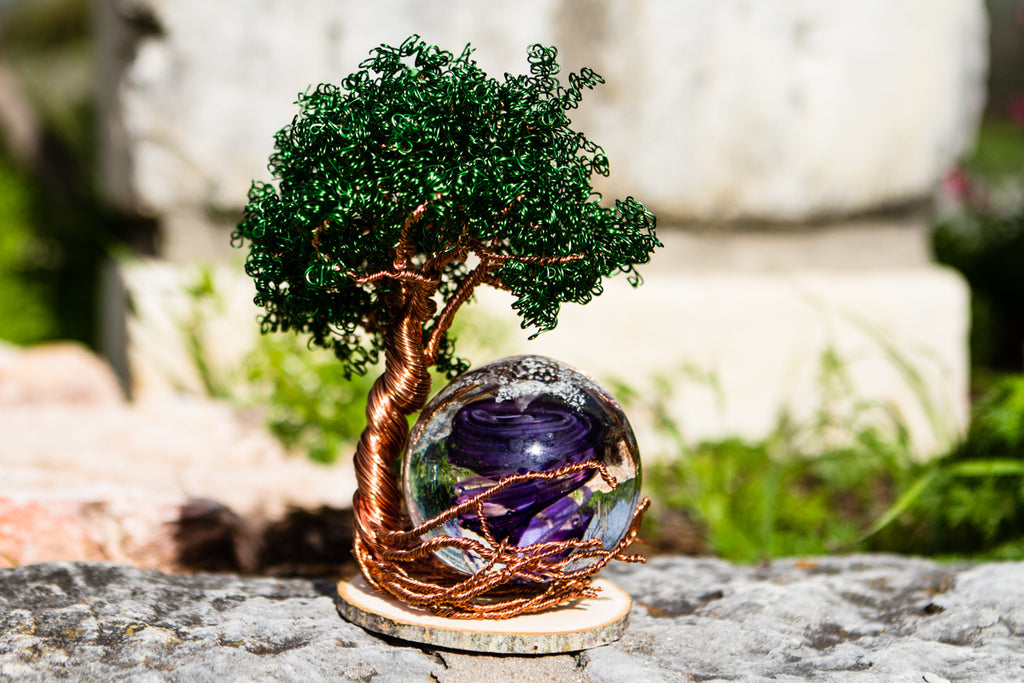Pale Ponderosa Tree Of Life - TREE ONLY - PAPERWEIGHT | $349.00
