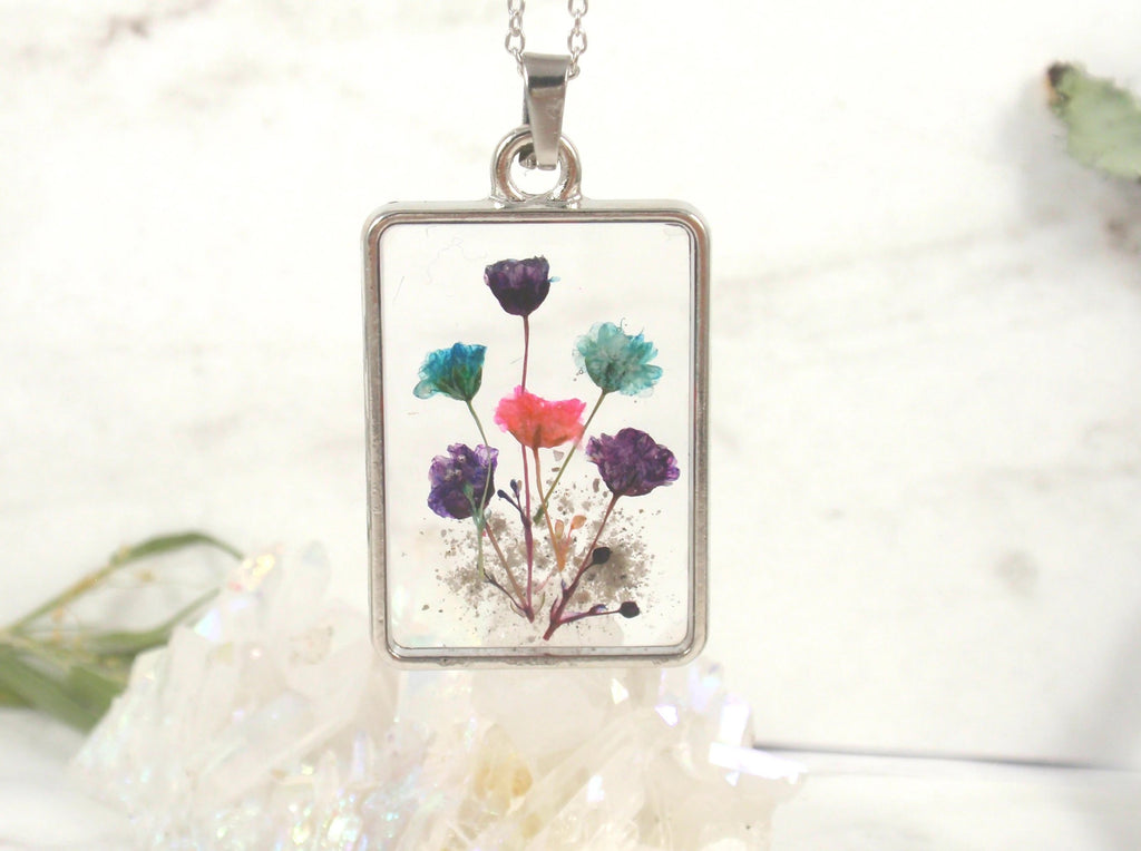 wildflower pendant