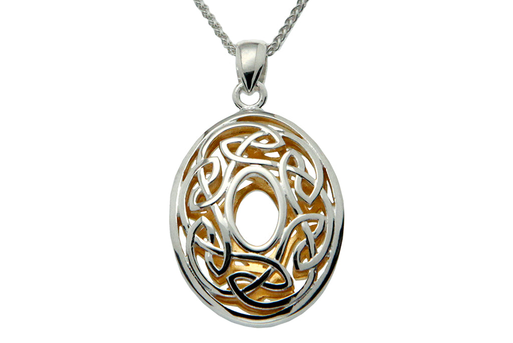 Oval Window to the Soul Memorial Necklace - Cremation Jewelry | $149.00