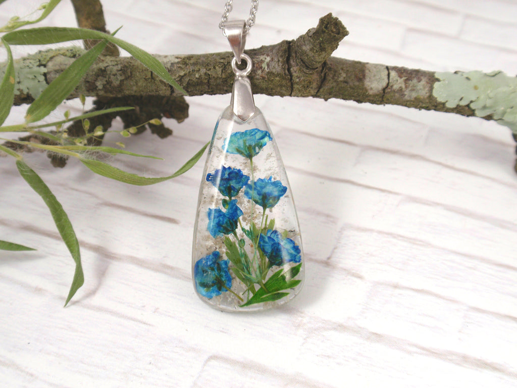 baby's breath pendant