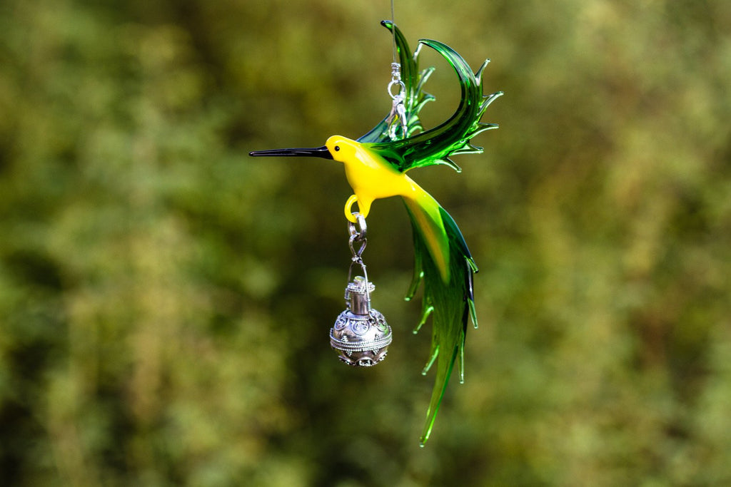 bee-eater-bird-with-silver-keepsake-for-ashes