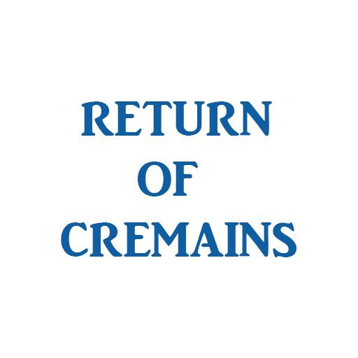 Cremation Ash Kit Return