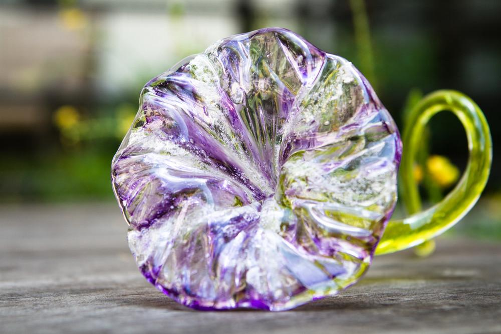 ashes into glass memorial flower