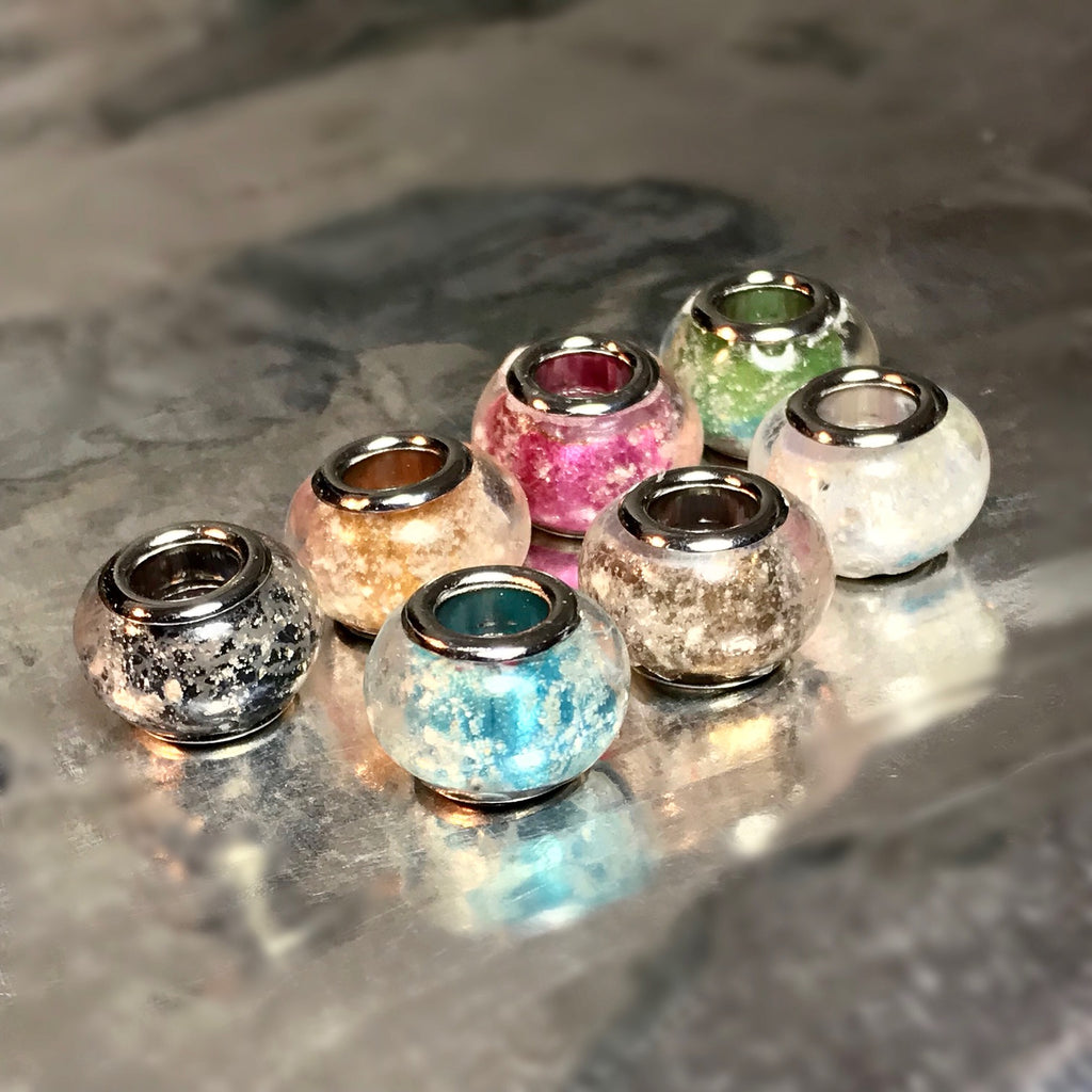 (Multi-Pack) Metallic Color Beads with Cremains