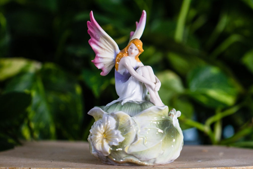 Porcelin Fairy Keepsake Urn
