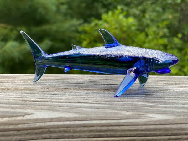 Shark Figurine with Cremains