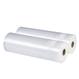 Freshlocker Vacuum Sealer Rolls 2 Rolls 11''×50' Sous Vide Bags 4 mil Embossed Commercial Grade Vacuum Sealer Bags for Food Save and Food Vac Storage & Seal, Microwave & Freezer Safe, Seal a meal - freshlocker