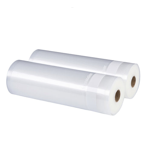 Freshlocker Vacuum Sealer Rolls, Vacuum Sealer Bags 2 Rolls 11''×50' Sous Vide Bags 4 mil Embossed Commercial Grade food bags for Food Save and Food Vac Storage & Seal, Microwave & Freezer Safe, Seal a meal - freshlocker