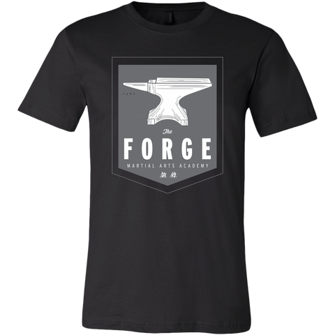 Forge Martial Arts Anvil Grey - Mens Tee