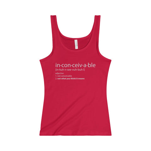 Durango Tees Inconceivable - Women's Jersey Tank