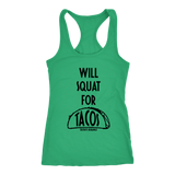 CrossFit Durango Squat for Tacos - Women's Tank