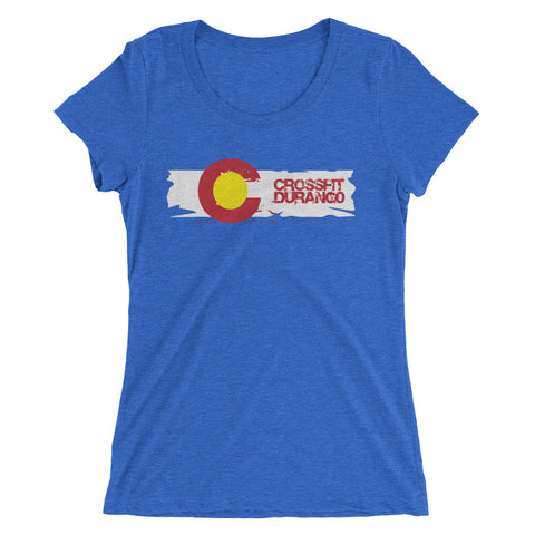Old School CrossFit Durango Design - Women's Tee
