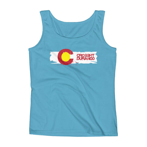 Old School CrossFit Durango Design - Women's Tank